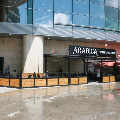 Arabica Coffee House Antares AVM arabica coffee house